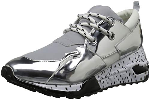 Silver Steve Women's Cliff Sneaker Madden rnxUBn