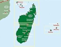 Madagaskar Autokarte Madagascar Mapa De Carreteras