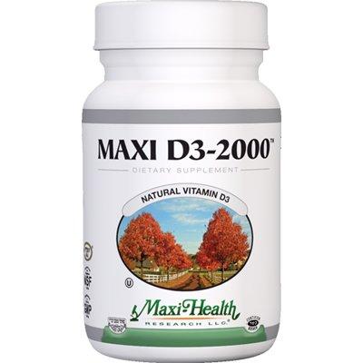 Maxi-Health Research D3, 2000 IU- 90 tab
