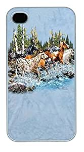 IPhone 4S Cases Find 20 Running Horses Polycarbonate Hard Case Back Cover for iPhone 4/4S White