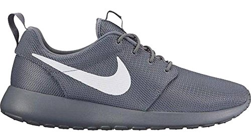 Nike Mens Roshe One Running Shoes Cool Grey/White-Volt 511881-032 Size 11.5