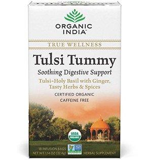 (Organic India Tulsi Wellness Tummy Tea, 25 Tea bags)