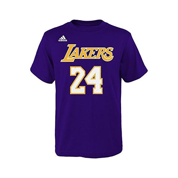1cf013ade6bb adidas Kobe Bryant Los Angeles Lakers  24 NBA Youth Gametime Player ...