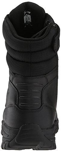 Siege Zip Side Nero Waterproof Stivali Pelle Bates Uomo vxntAwqB5