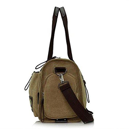 Shoulder Blue Zipped Boy Multi Handbag Large For Messenger Canvas Casual Crossbody Pocket Bag Capacity Outdoor Men Satchel Travel wTnPzq7HxZ