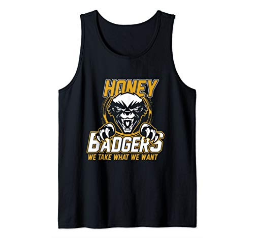 Honey Badger Tank Top (Badger Top Honey Tank)