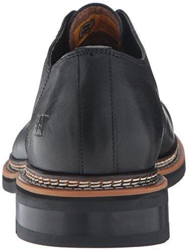 zapatos de vestir de cuero Hyde P720351 Caterpillar CAT Hombres de Negro Negro Black