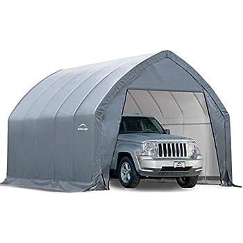 Amazon com: ShelterLogic Garage-in-a-Box SUV/Truck Shelter