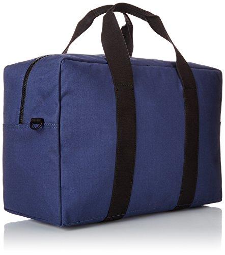 Jack Spade Men's Bonded Cotton Duffle Bag, Navy/Tank, One Size by Jack Spade (Image #2)