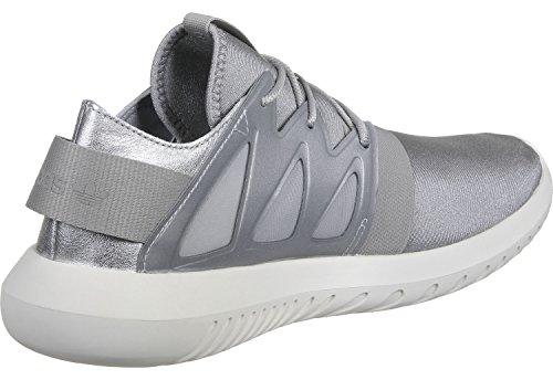 Viral adidas Damen grau Tubular W Gymnastikschuhe Grey metallic pZ8EZw