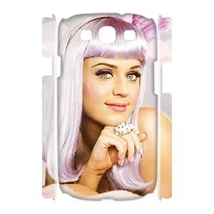 C-EUR Katy Perry Customized Hard 3D Case For Samsung Galaxy S3 I9300 Kimberly Kurzendoerfer