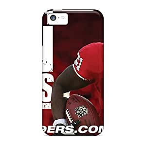 High Grade Winvin Flexible Tpu Case for ipod Touch 4 - San Francisco 49ers