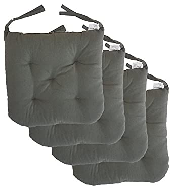 Cottone 100% Cotton Chair Pads W/ Ties (Set Of 4) | 16