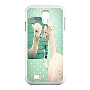 Custom Llama Phone Case for SamSung Galaxy S4 i9500, Llama S4 Cell Phone Case, Personalized Llama i9500 Case