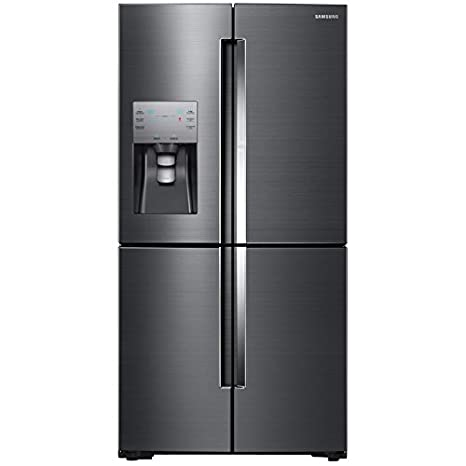 Samsung RF22K9381SG 36u0026quot; Counter Depth French Door Refrigerator With 22  Cu. Ft. Total