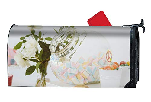DREES Colorful Candies Spring Magnetic Mailbox Cover Floral