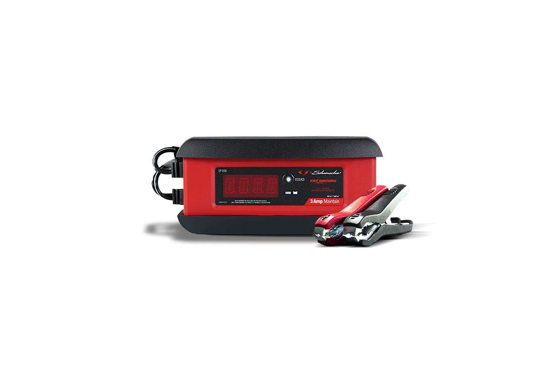 Schumacher SP1356 6/12V Fully Automatic Battery Charger and 3A Maintainer by Schumacher (Image #4)