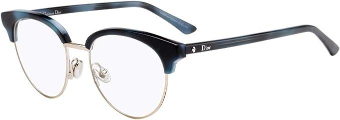 Dior Brillen Montaigne 58 Blue Havana Damenbrillen Amazon De Bekleidung