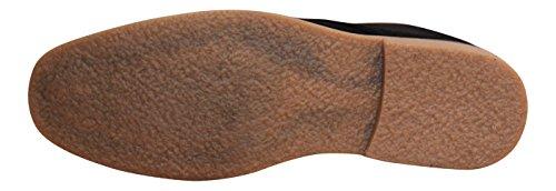 Lace Desert Black Beige Black Up Faux Boots Ankle Blue Mens Grey Shoes Navy Suede New w1q1g8