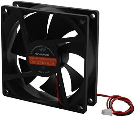 DC 12V 0.32A caja de la PC CPU refrigerador ventilador de ...