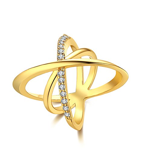 Unisex Charms Jewelry Gold Plated Romantic Geometry Statemen