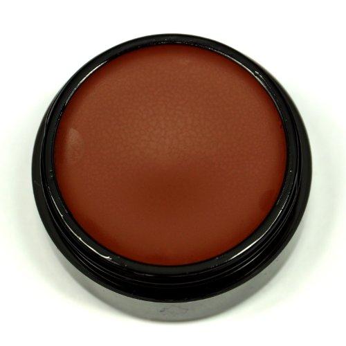 Graftobian Professional Theatrical Creme Makeup - 1/4oz Eye Shadow/Lining Shades (Deep Mocha)