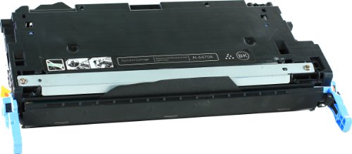 Black Compatible HP 501A / Q6470A Toner Cartridge Compatible with HP Color LaserJet CP3505dn, Color LaserJet CP3505n, Color LaserJet CP3505x, Color LaserJet 3600, Color LaserJet 3600dn, Color LaserJet 3600n, Color LaserJet 3800, Color LaserJet 3800dn, Color LaserJet 3800dtn, Color LaserJet 3800n Ink © Blake Printing Supply, Office Central