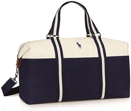 Bolsa para gimnasio de color azul y blanco, de diseño, también ...