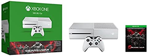 Microsoft Xbox One 500GB Console, Gears of War, Ultimate Edition Bundle, White (Certified (Gears Of War Mission)