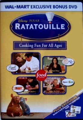 Ratatouille - Cooking Fun For All Ages DVD Includes: Emeril Live, Rachael Ray, Alton Brown Good - Movie Dvd Ratatouille