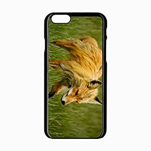 iPhone 6 Black Hardshell Case 4.7inch grass walk Desin Images Protector Back Cover