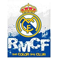 Real Madrid Manta coralina Premium 250gr (100-295), Multicolor
