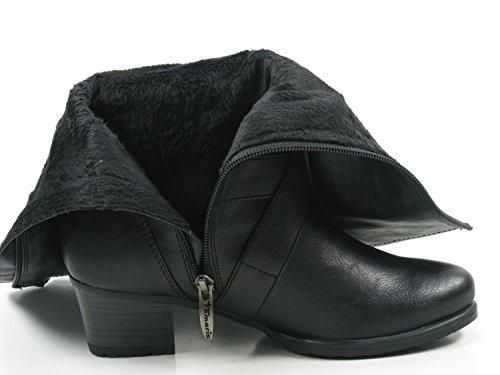 1 Schwarz 29 Ankle Boots 25018 Tamaris Womens dqBYx1