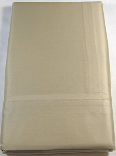 Ralph Lauren Bedford Sateen 800 Thread Count King Pillow Sham Classic Champagne ()