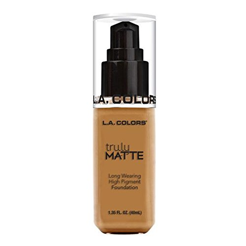 L.A. Colors Truly Matte Foundation, Cafe, 1 Ounce