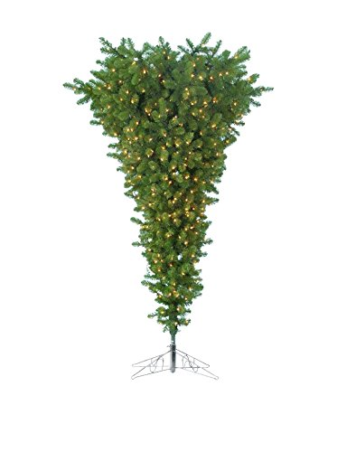 Kurt Adler Pre-Lit Upside Down Tree, 5-Feet Upside Down Christmas Trees