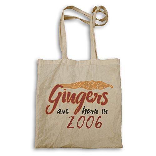 Gingers sind im Jahr 2006 geboren Tragetasche c307r