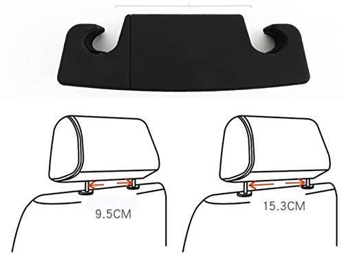 Appendiabiti per auto con appendiabiti per sedile posteriore Gancio di qualit/à Premium per CHR 2017-2019