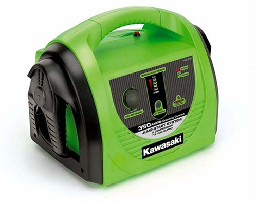 Kawasaki 840095 Green 18AH Jumpstart and Air Compressor