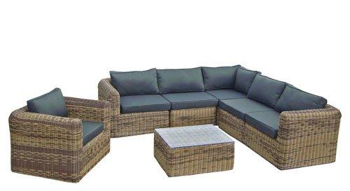 Amazonde Poly Rattan Lounge Gartenset Sofa Garnitur Polyrattan