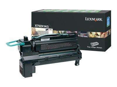 Lexmark Toner Cartridge, High Yield, 9000 Page Yield, Black ()