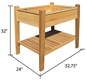Amazoncom Arboria EZ Plant Elevated Garden Raised Garden Kits