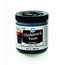 FolkArt Chalkboard Paint in Assorted Colors (8-Ounce), 2517 Black