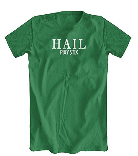 Shirts You Love Hail Pixy Stix T-Shirt, Mens, Kelly Green, Large
