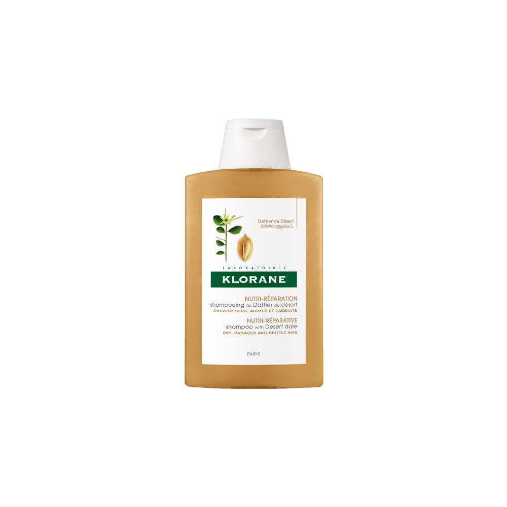 Klorane Shampoo with Desert Date, Repair Dry, Damaged Hair