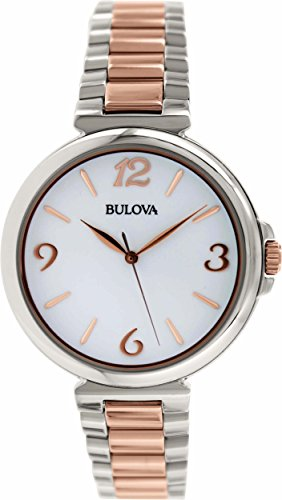 Bulova Women's 98L195 Analog Display Japanese Quartz Two Tone Watch