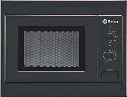 Balay 3WMN-1958, 1270 W, 230 V, 50 Hz, Negro, 453 x 320 x ...