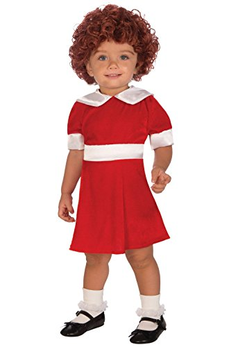 [Mememall Fashion Little Orphan Annie Toddler Costume] (Toddler Annie Costumes)