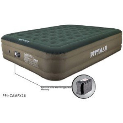 Pittman Outdoors PPI-CAMPX16 Green/Tan Queen 16