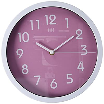 hito Modern Colorful Silent Non-Ticking Wall Clock- 10 Inches -  - wall-clocks, living-room-decor, living-room - 41sUMuhexjL. SS400  -